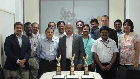 CMO Asia has honored GVK BIA in three prestigious categories at the IT Excellence Award 2012. For IT Leadership Strategy,  Leveraging IT for Business Performance and Mr. Francis Rajan, VP ICT has been awarded the Best CIO of the year.