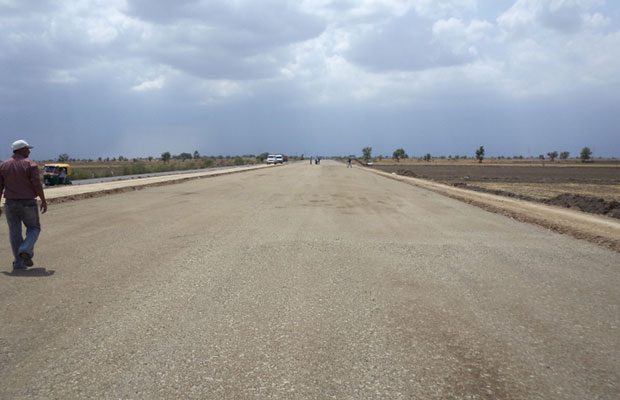 Front View of Road