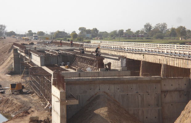 Construction of Reinforced deck Slab completed on the Expressway