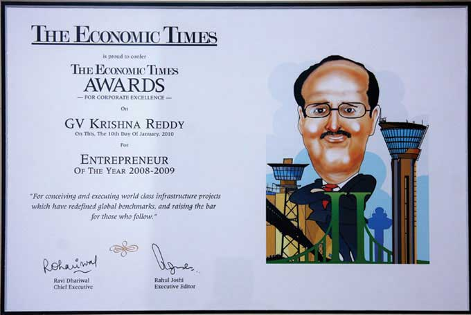 Economic Times Awards for Entrepreneur of the Year 2008-2009