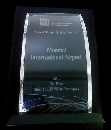Second best airport worldwide in the 15-25 mppa category for the year 2010