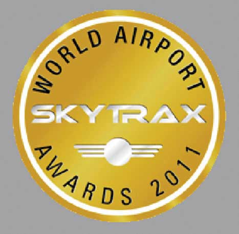 GVK BIA has won the prestigious 'World Airport SKYTRAX Awards, 2011' being adjusted as India's best Airport