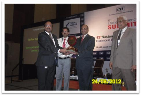 "GVK BIAL has been recognized with the ""Excellent Energy Efficient Unit"" Award in the CII National Energy Awards."